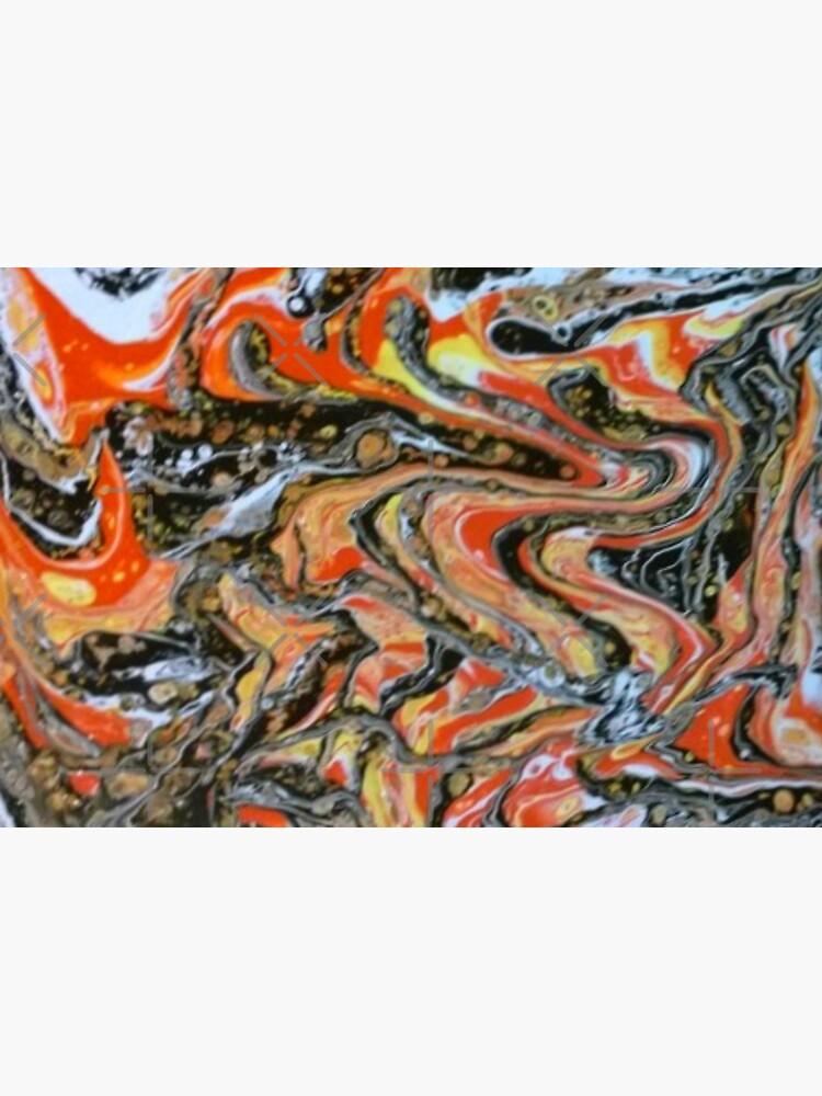 """Abstract Painting-""""Candy Corn""""-Abstract Art-Abstracts by Matlgirl"""