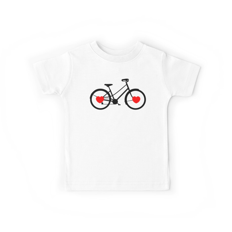 Love My Bike Cycling Bicycle by SportsT-Shirts