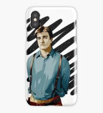 Malcolm Reynolds aka Mal aka… Nathan Fillion iPhone Case/Skin