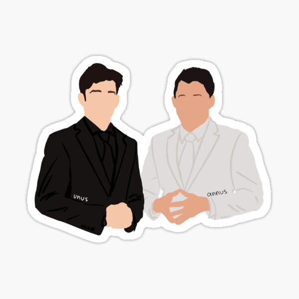 Unus Annus Sticker / Cute Sticker