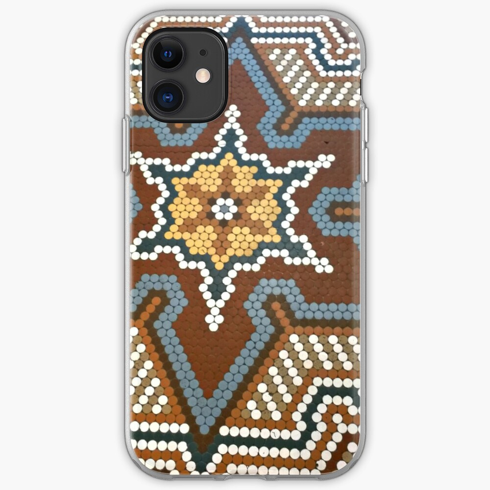 French Lick Resort-floor tile-mosaic tiles iPhone Case & Cover