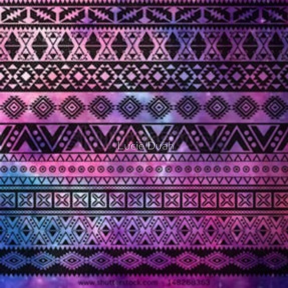 Aztec Galaxy by Lucie Duah