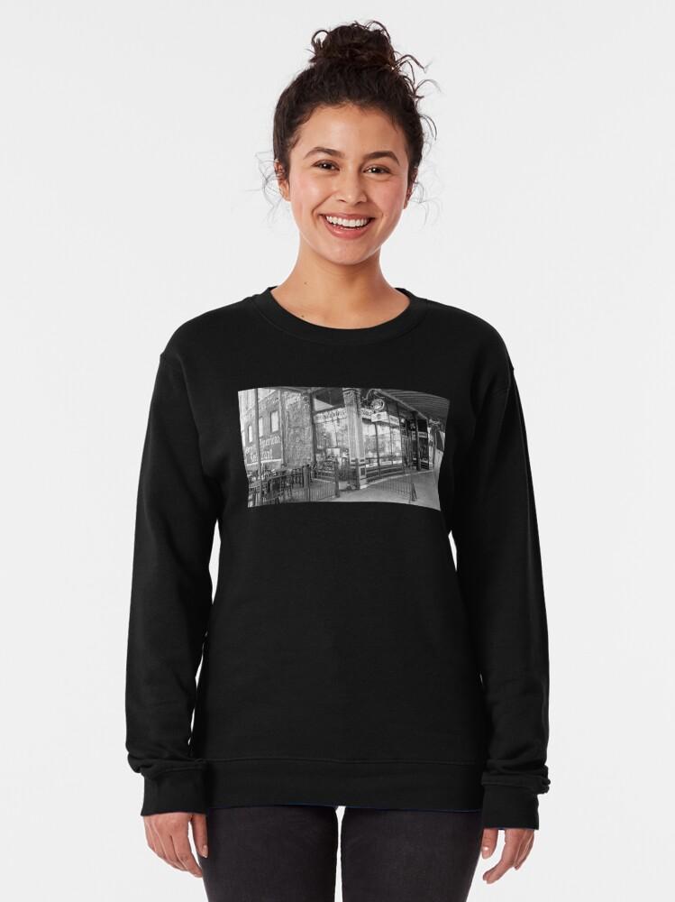 Alternate view of The Gerst Haus-German Restaurant-Franklin Street's Favorite Restaurant Pullover Sweatshirt