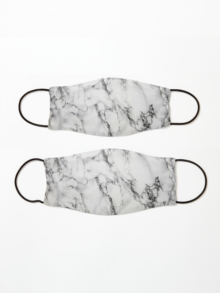 Alternate view of White Marble  Mask