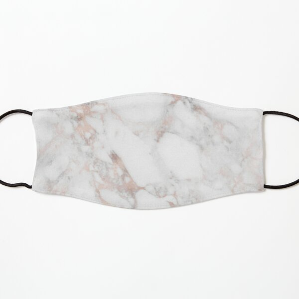 Luxury Rose-gold faux marble Kids Mask