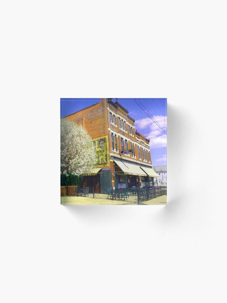 Alternate view of Smitty's Italian Steakhouse-Franklin Street-Evansville IN Acrylic Block