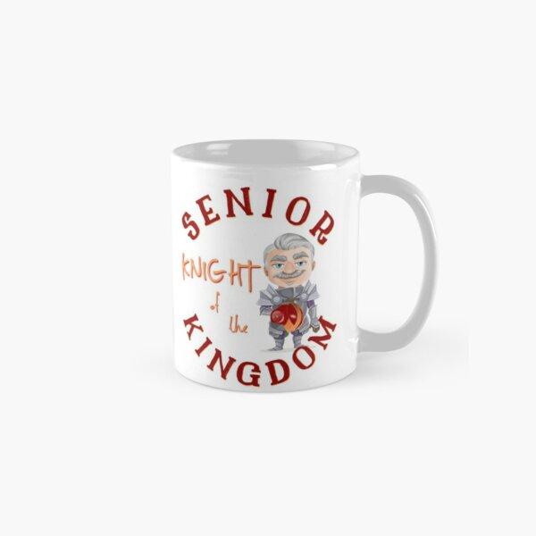Kansas City Football Senior Knight Kingdom funny cartoon design Classic Mug