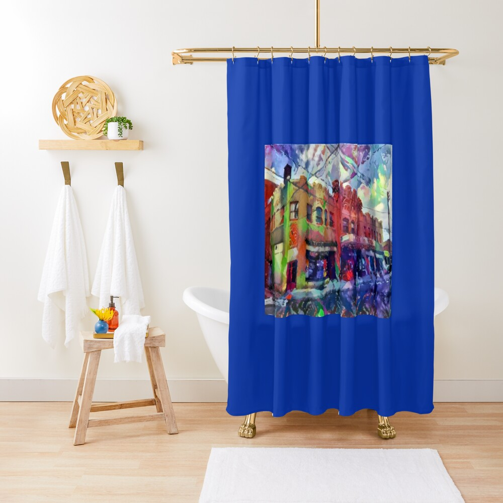 Civic Theatre-19th Street Theater-Allentown, PA Shower Curtain