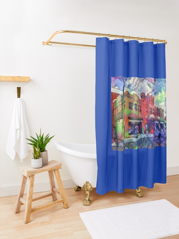 Alternate view of Civic Theatre-19th Street Theater-Allentown, PA Shower Curtain