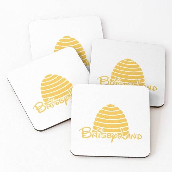 Brisbyland Coasters (Set of 4)