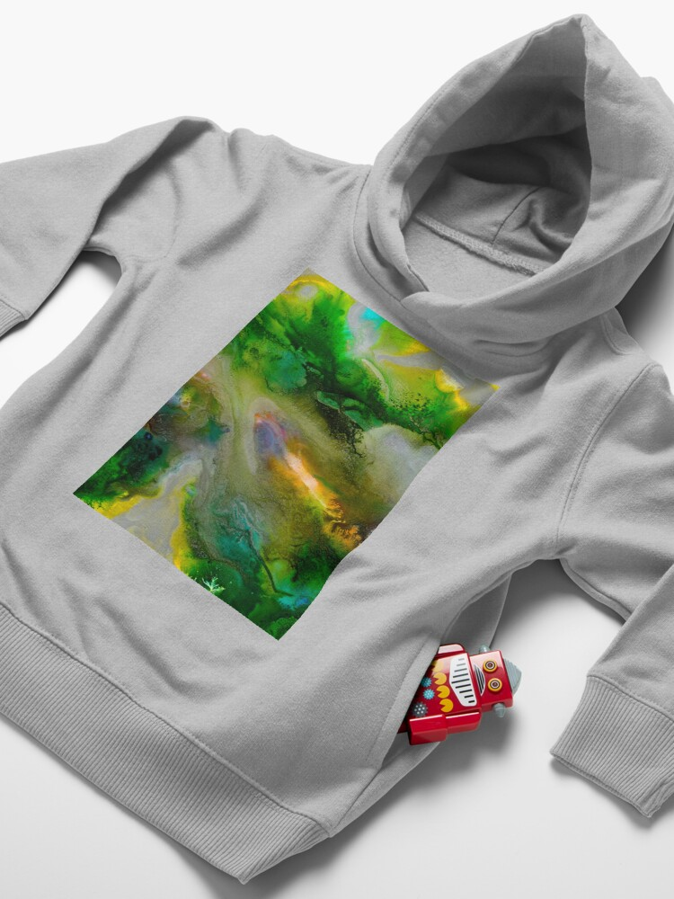 Alternate view of Silver Lining Toddler Pullover Hoodie