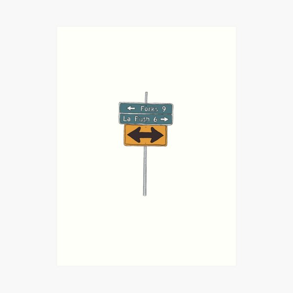 Which Road do you Choose Art Print