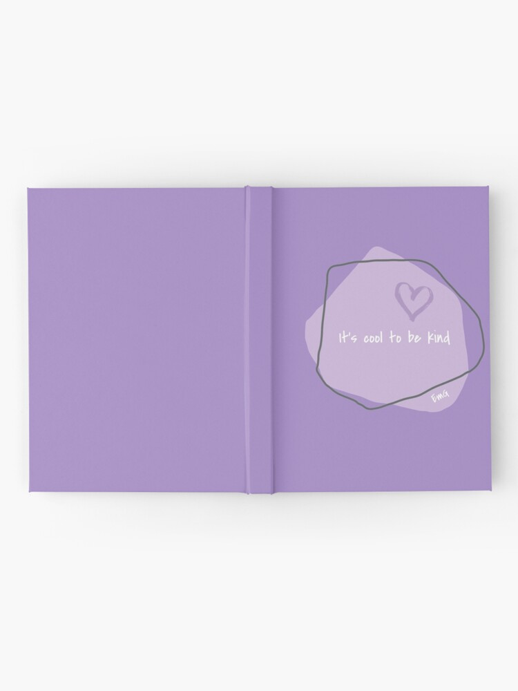 Alternate view of It's Cool to be Kind-T-shirt-Kindness Matters-Graphic Tees Hardcover Journal