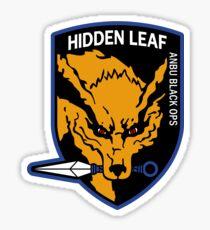 Nine-Tailed Fox Hound Sticker