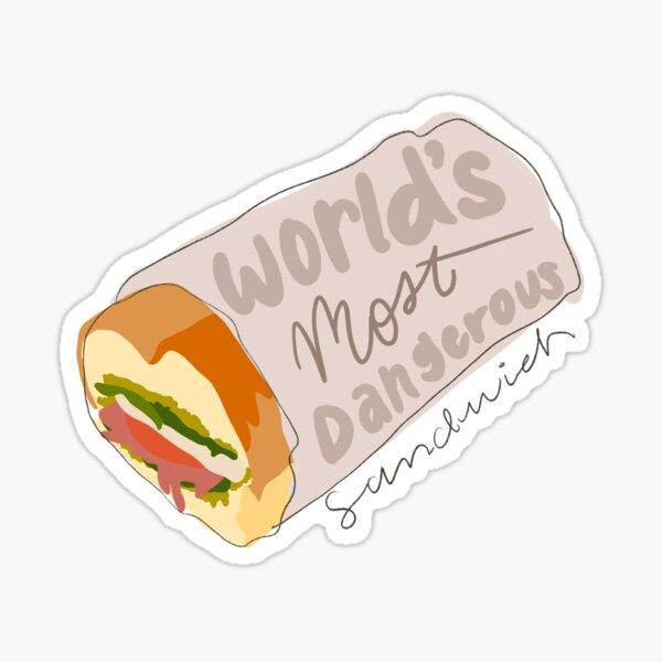 Fitz Sandwich Sticker