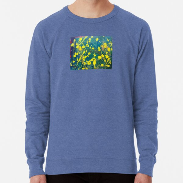 """Abstract Painting-""""Lemon Drops""""-abstract art-abstracts Lightweight Sweatshirt"""