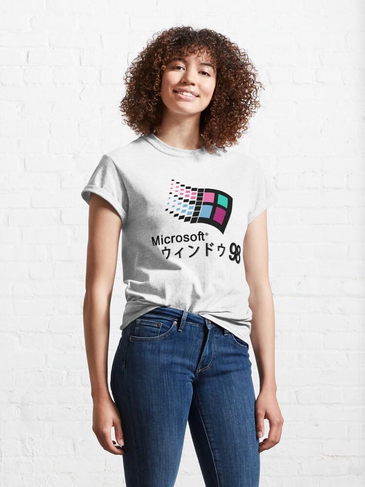 Alternate view of Microsoft Windows 98 Vaporwave Classic T-Shirt