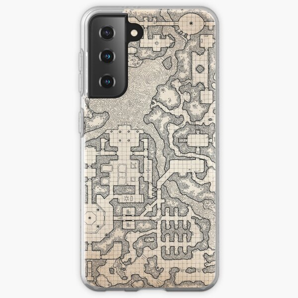 The Winter Tombs - a massive dungeon complex by Dyson Logos Samsung Galaxy Soft Case
