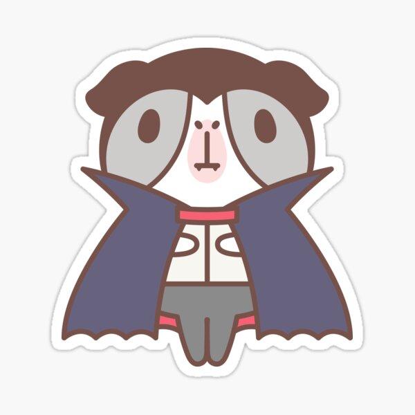 Guinea pig in vampire costume  Sticker