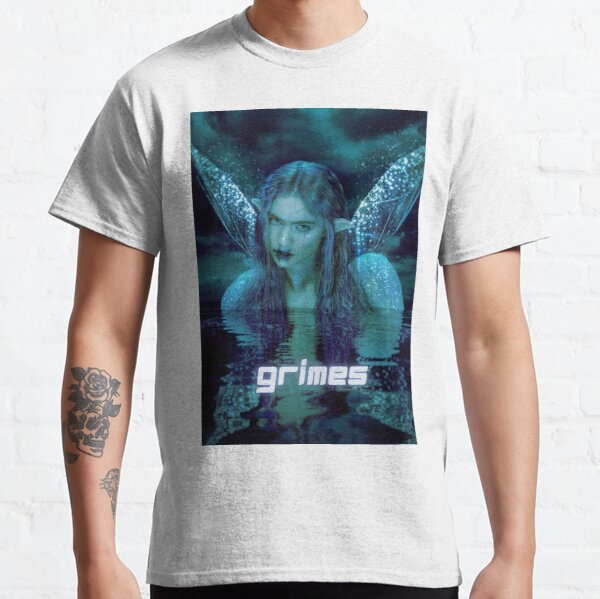 fairie blue green grimes design Classic T-Shirt