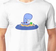 Whales love beaches Unisex T-Shirt