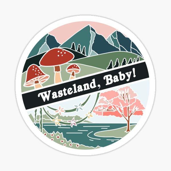 Wasteland, Baby! Hozier Inspired Sticker