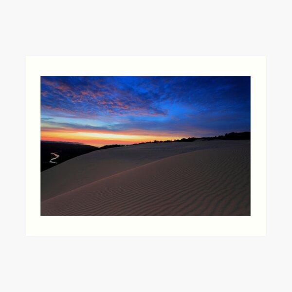 Thurra Sand Dunes  Art Print