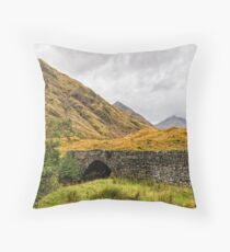 Eas-nan-Arm Bridge Throw Pillow
