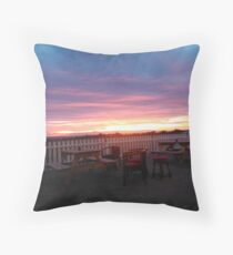 Summers evening  Throw Pillow