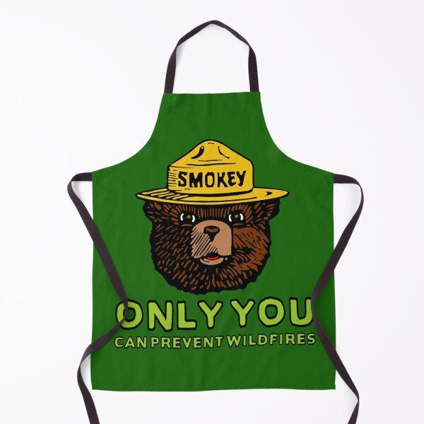 Smokey The Bear: Only You Apron