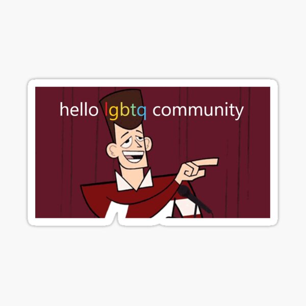 Clone High JFK LGBTQ Community  Sticker