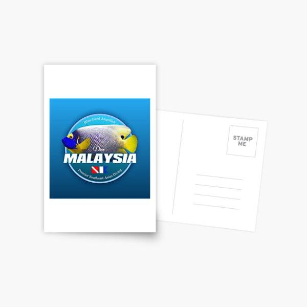 Dive Malaysia (DD2) Postcard