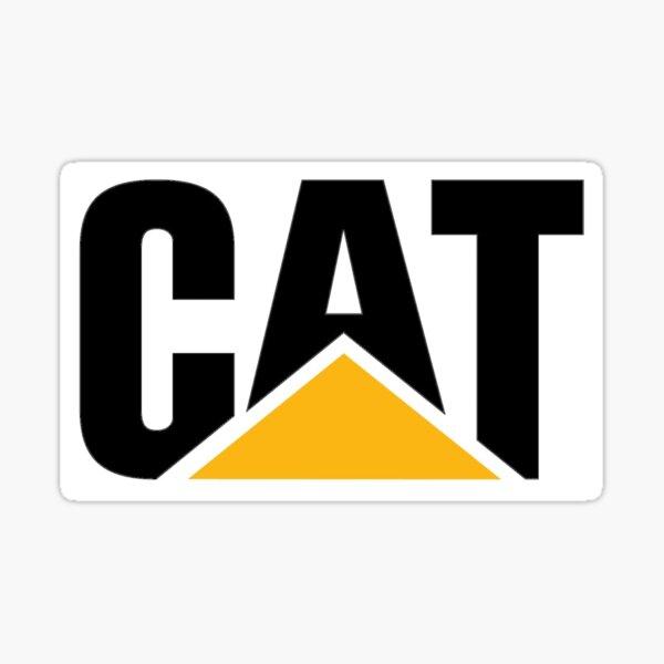 CAT Caterpillar Original and Genuine Logo Sticker