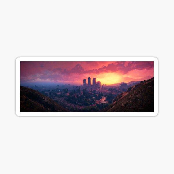 GTA V Landscape Sticker
