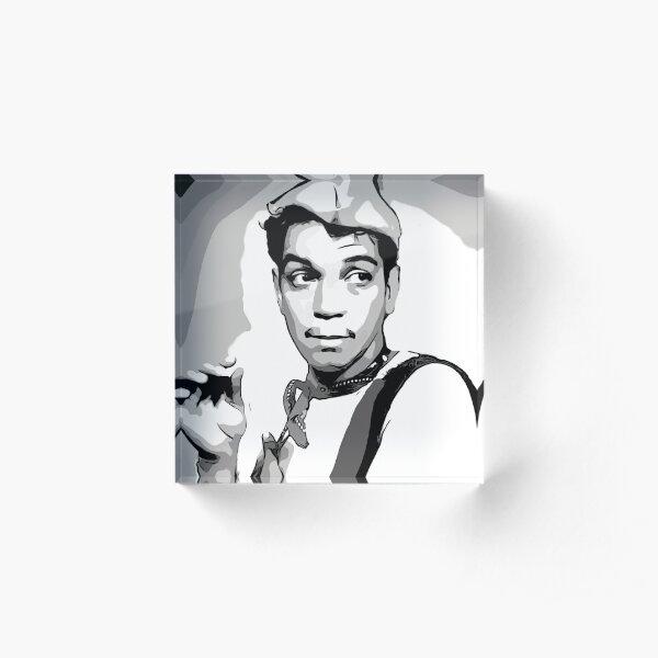 Cantinflas Acrylic Block