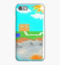 Minecraft Above & Below iPhone Case/Skin
