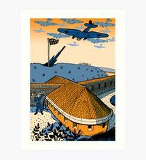 Shoreham Fort Art Print
