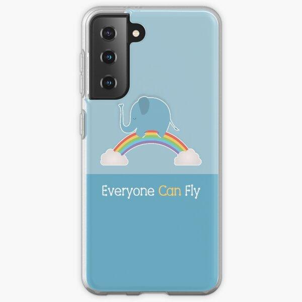 Everyone Can Fly Samsung Galaxy Soft Case
