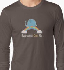 Everyone Can Fly Long Sleeve T-Shirt