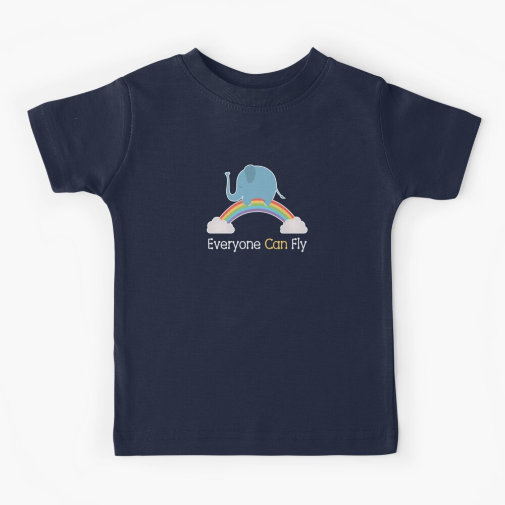 Everyone Can Fly Kids T-Shirt