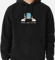 Everyone Can Fly Pullover Hoodie
