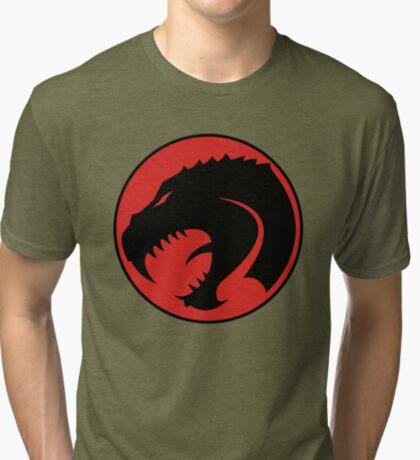 Thunder Lizard  Tri-blend T-Shirt