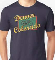 Bike Cycling Bicycle Denver Colorado Unisex T-Shirt