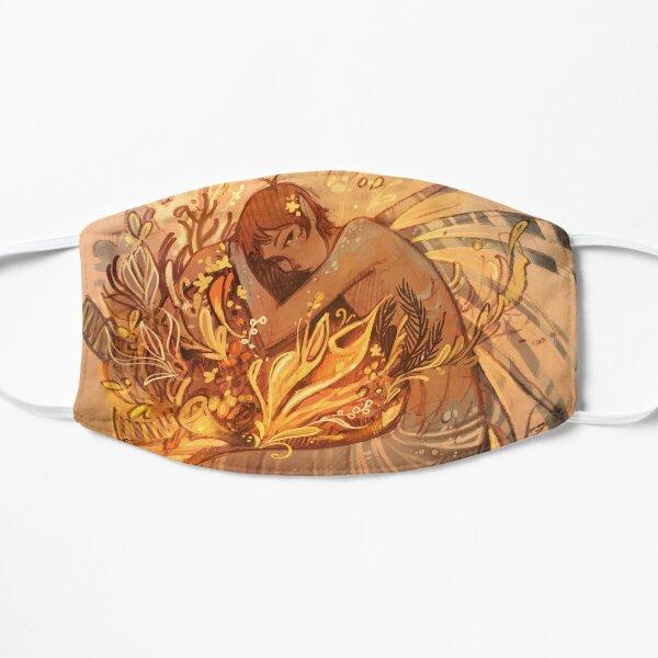 Heart of Gold Flat Mask