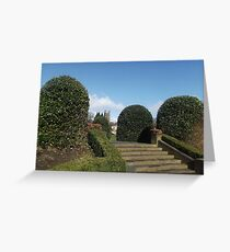 Stair Landscape Greeting Card