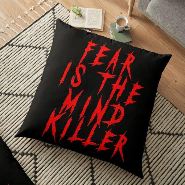 Fear is the mind killer - Deadly Killer Font Floor Pillow