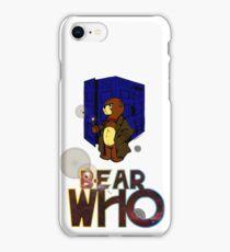 Bear Who? iPhone Case/Skin