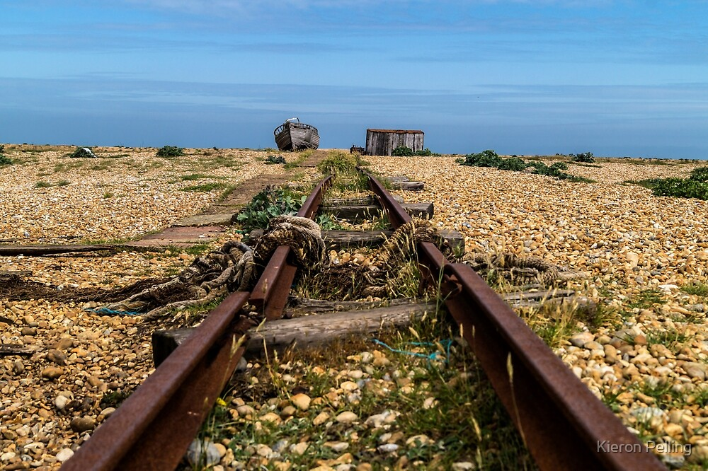 Dungeness Beach by Kieron Pelling