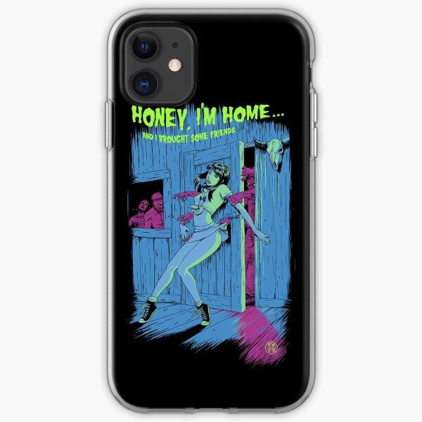 Zombie Pinup Girl Funda blanda para iPhone