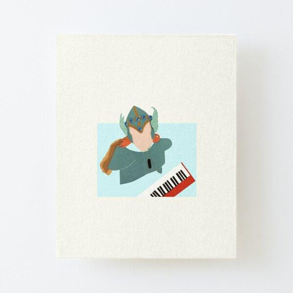 volcano man Canvas Mounted Print